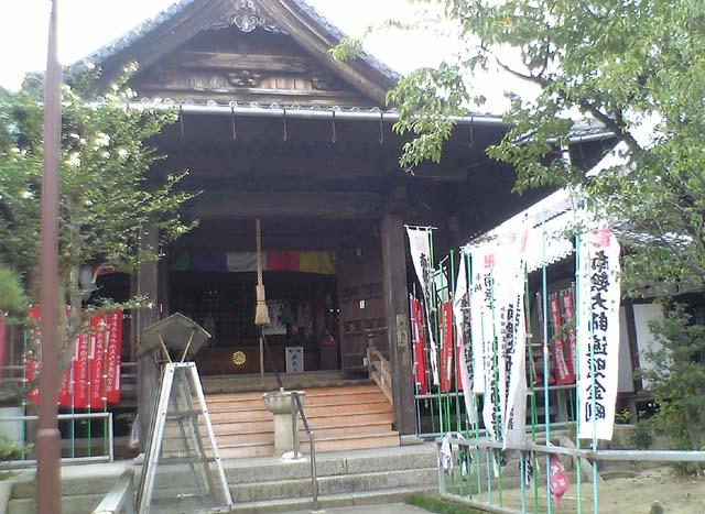 第 2番札所 法蔵山極楽寺 弘法堂内部・千体弘法像